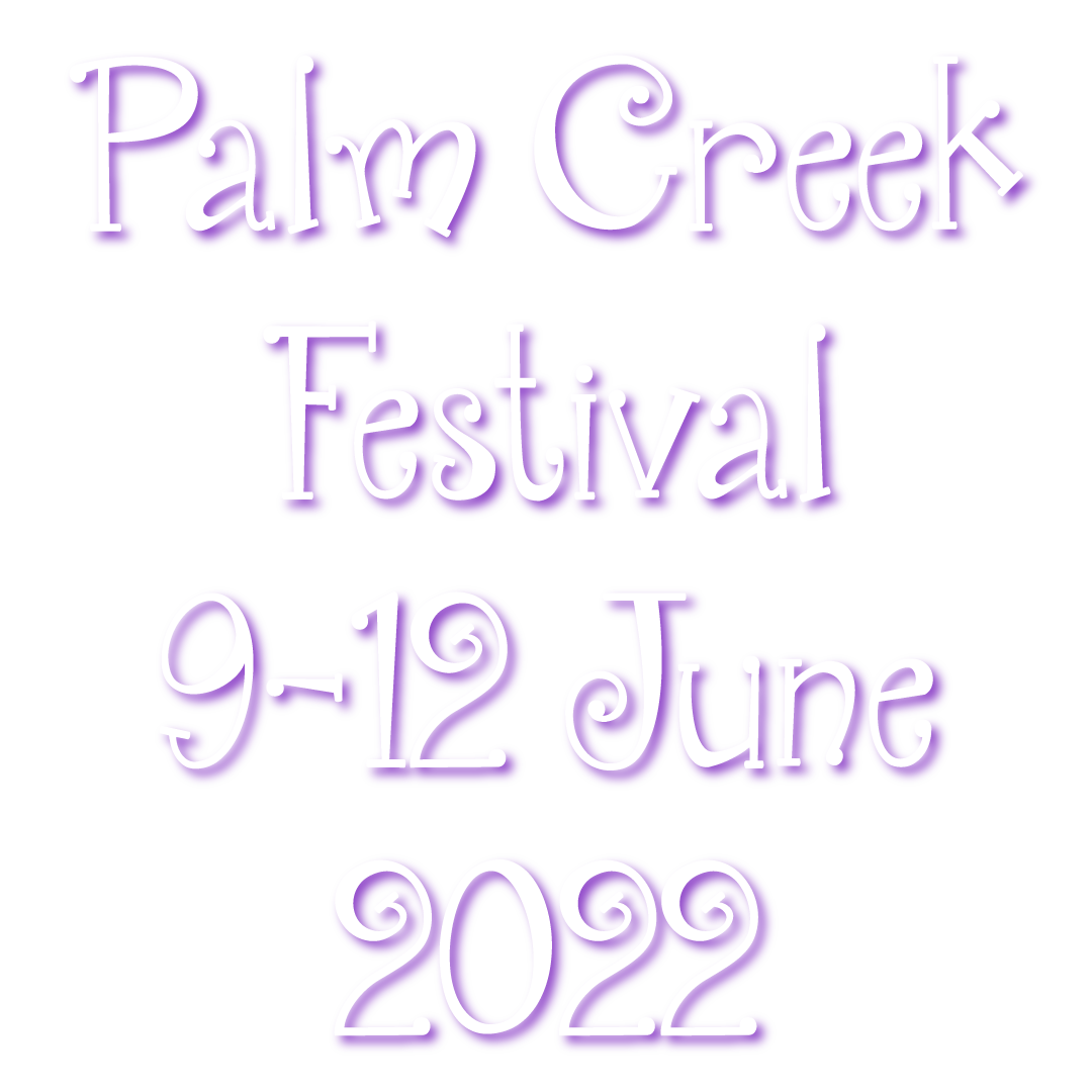 PALM CREEK FOLK FESTIVAL Logo